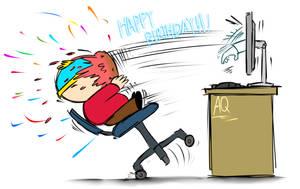 Cartman birthday(2019) by aq1218