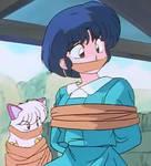Akane and shampoo