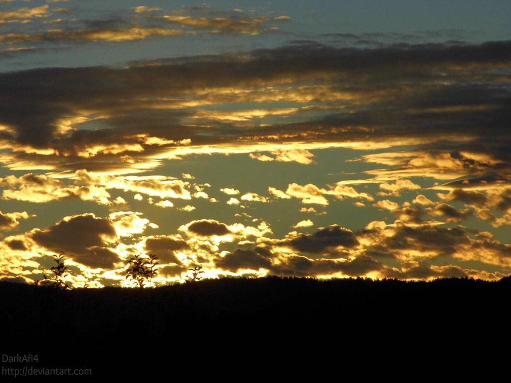 Burning sky by DarkAfi4