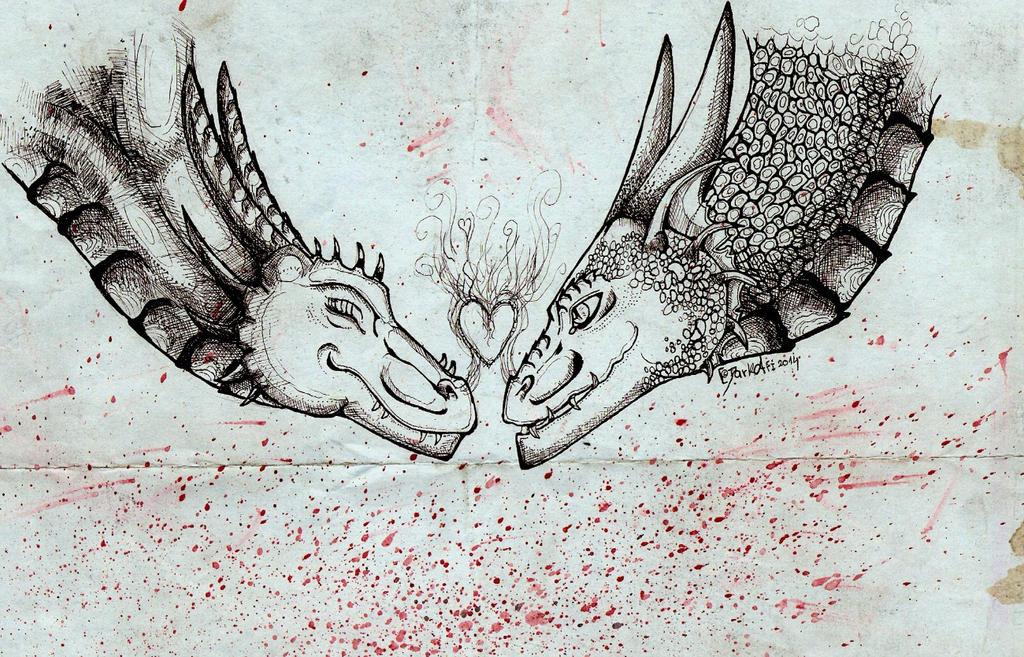 Dragon's love by DarkAfi4