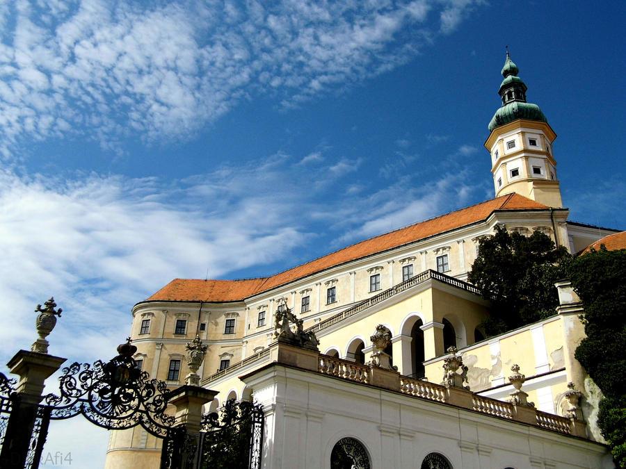 -Mikulov castle, Czech Republic- by DarkAfi4