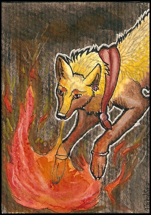 ACEO - Mikiseek by DarkAfi4