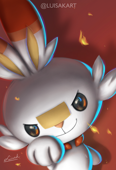Scorbunny - Pokemon Sword and Shield