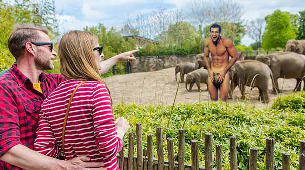 Gabriel Soto En El Zoo by GYMdoll