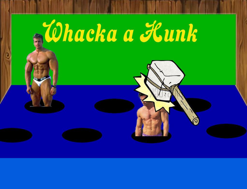 whacka a Hunk by GYMdoll