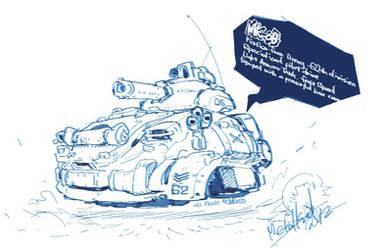 QuickSketch MK-06 Light Tank