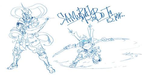 Quick Sketch SamuraiRobo