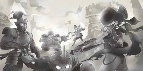 Tower Defense Concept Evil Heros!