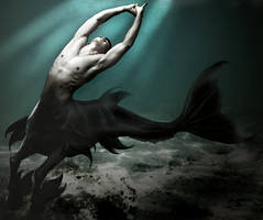 Ichthyocentaur by Chrisgiz12