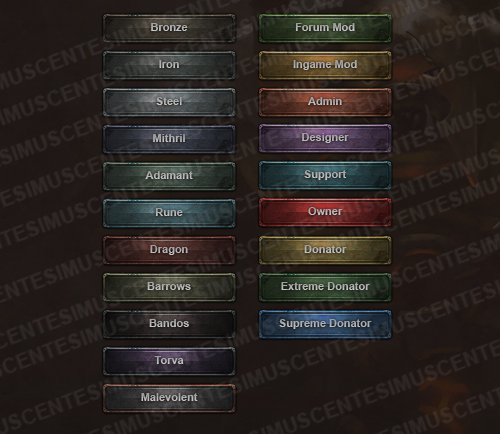 MMORPG userbars by centesimus