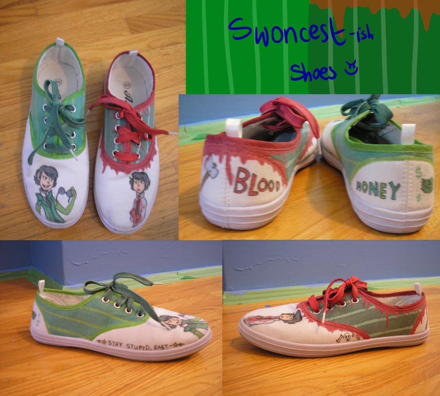 Swoncest(ish) Shoes by CatnipPacket