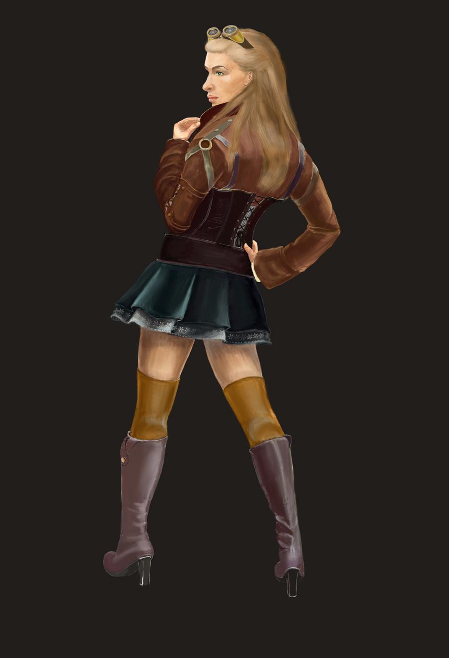girl by Lilia-Anisimova