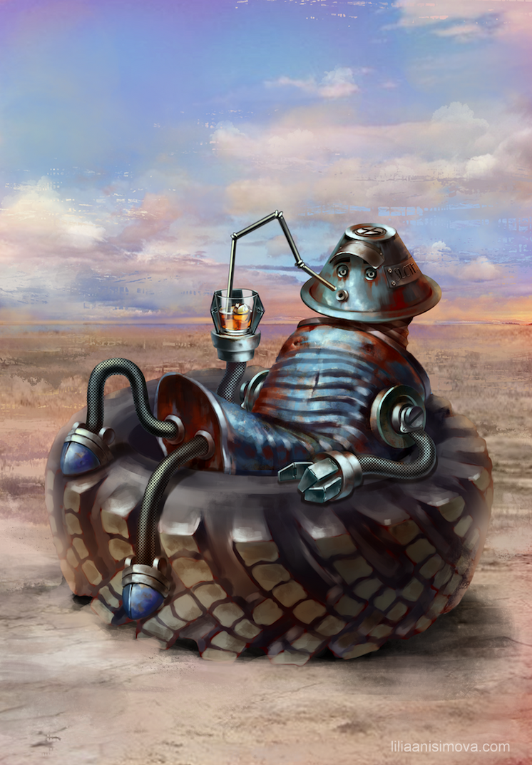 RoboSins Sloth by Lilia-Anisimova