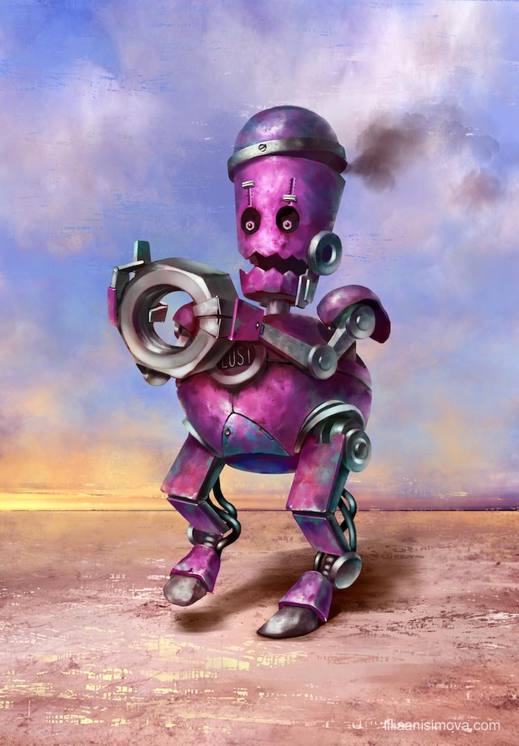 Robo-sins Lust by Lilia-Anisimova