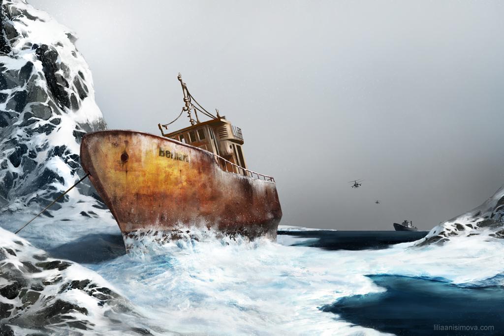Lost beneath the ice. by Lilia-Anisimova
