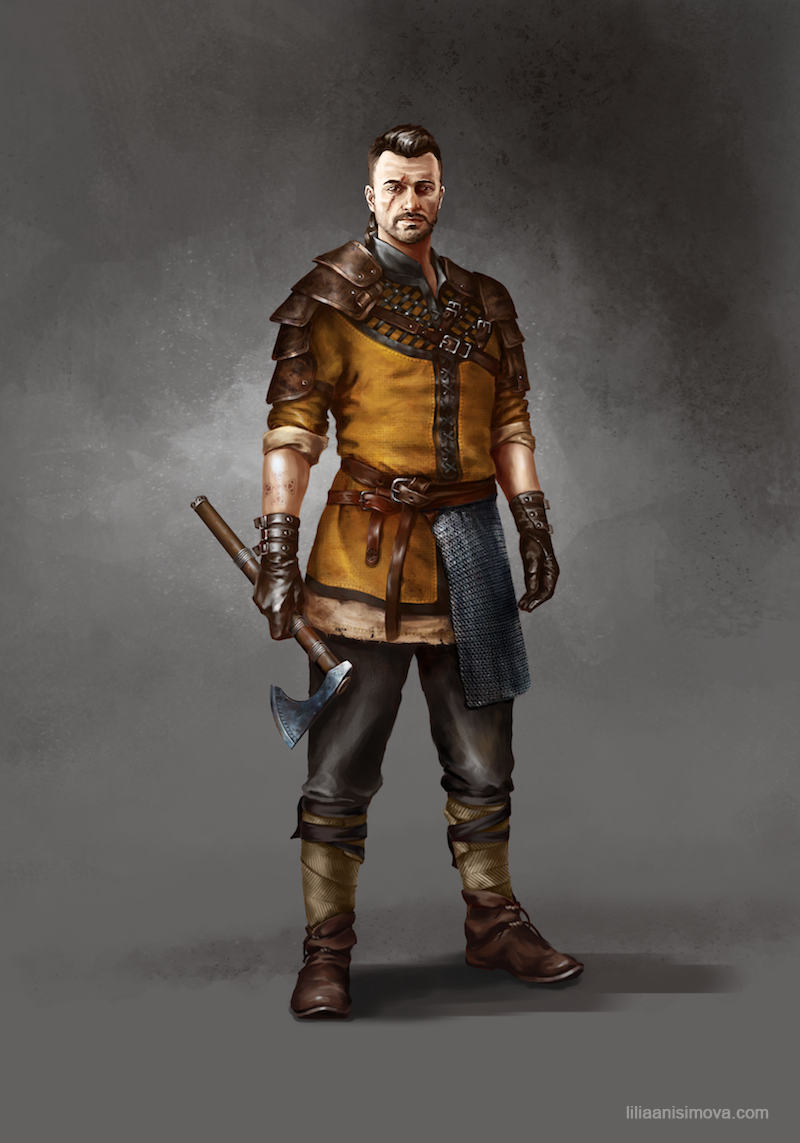 Viking by Lilia-Anisimova