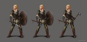 Shieldmaiden concept