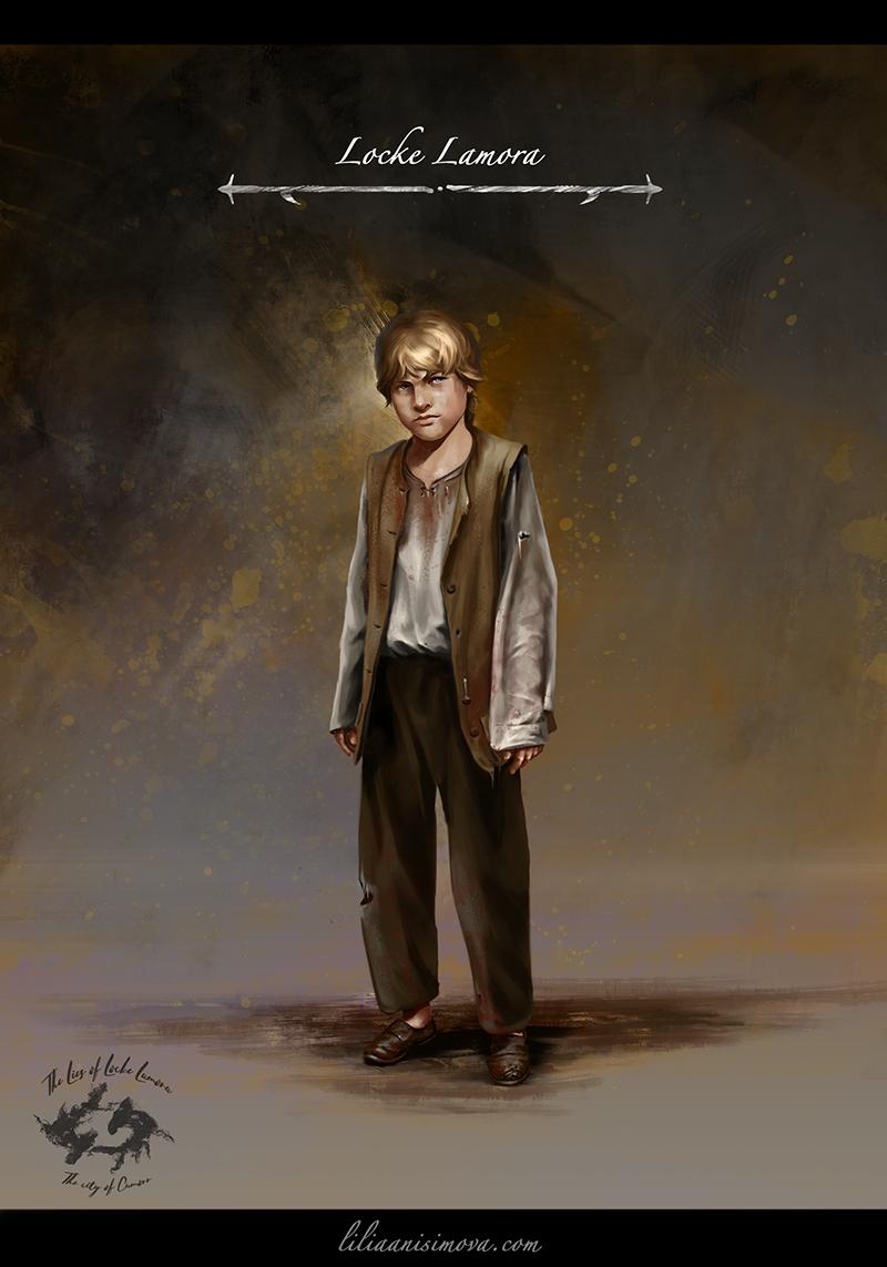 Locke Lamora by Lilia-Anisimova