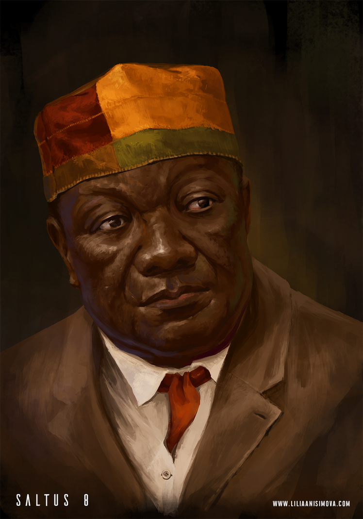 Saltus 8 Founders. Nando Sibanda, Diamond King by Lilia-Anisimova