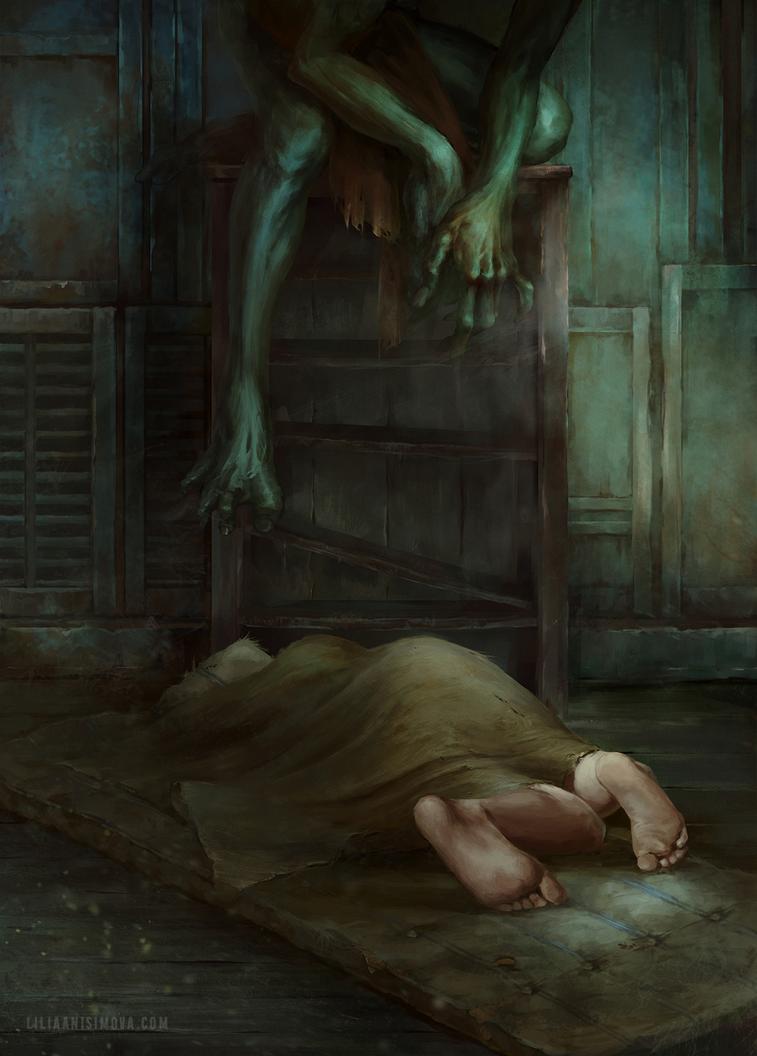 Nocturnal by Lilia-Anisimova