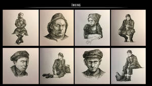Sketches (Ink). Part 12