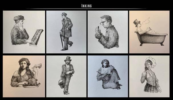 Sketches (Ink). Part 29