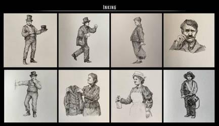 Sketches (Ink). Part 30