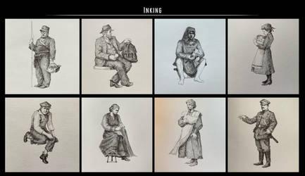 Sketches (Ink). Part 31