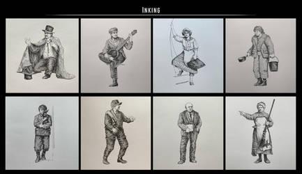 Sketches (Ink). Part 34