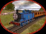 Railway Series Portraits - Thomas