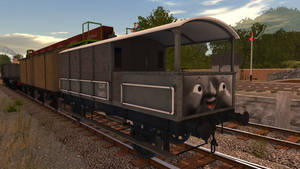 Toad the GWR Brakevan - Finished by wildnorwester