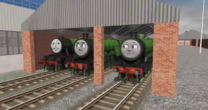 Three GNR Engines