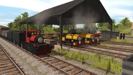 Bill and Ben and Skarloey