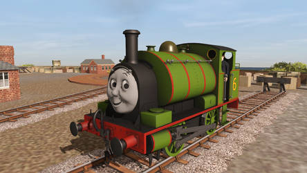 Tank Engine Percy Again