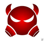 Devil logo vector by pojiwaleczna