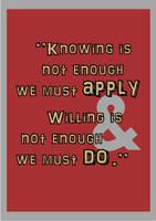 Apply and Do by pojiwaleczna