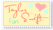 Taylor Swift Fan - Stamp by Lilya28