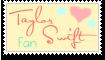 Taylor Swift Fan - Stamp by Lilya28