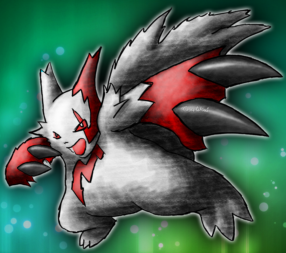 zangoose pokemon by Chartokai