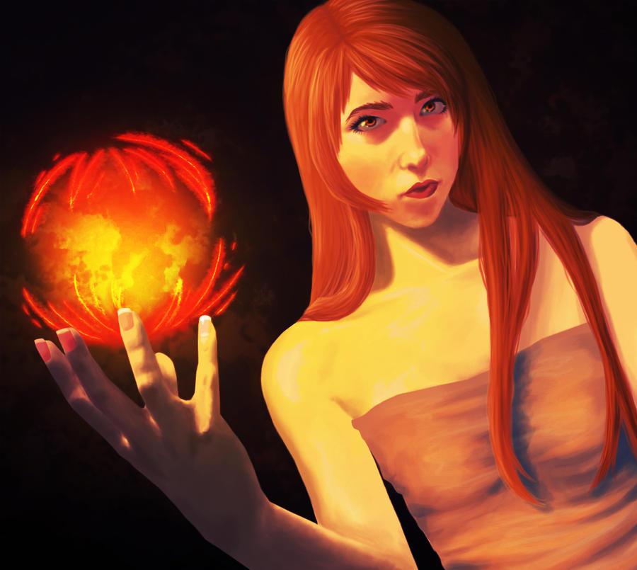 Fire by sketchkidd
