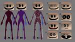 creepy smile cardboard box object head by suki42deathlake