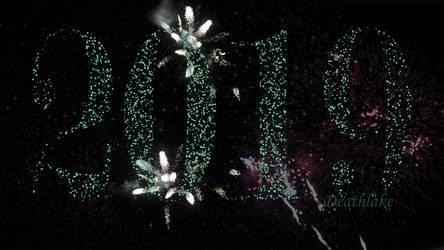 Happy 2019 new year! Fireworks animation by suki42deathlake