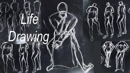 Life drawing pt2 2019 by suki42deathlake