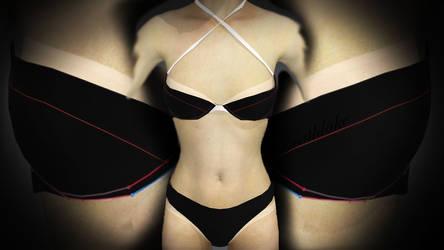 3D Bra and panties Timalapse by suki42deathlake