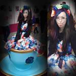 Hyper Japan 2019  lolita gothic sweet teapot by suki42deathlake