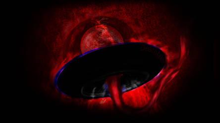 Unborn alien spaceship  speedpaint by suki42deathlake