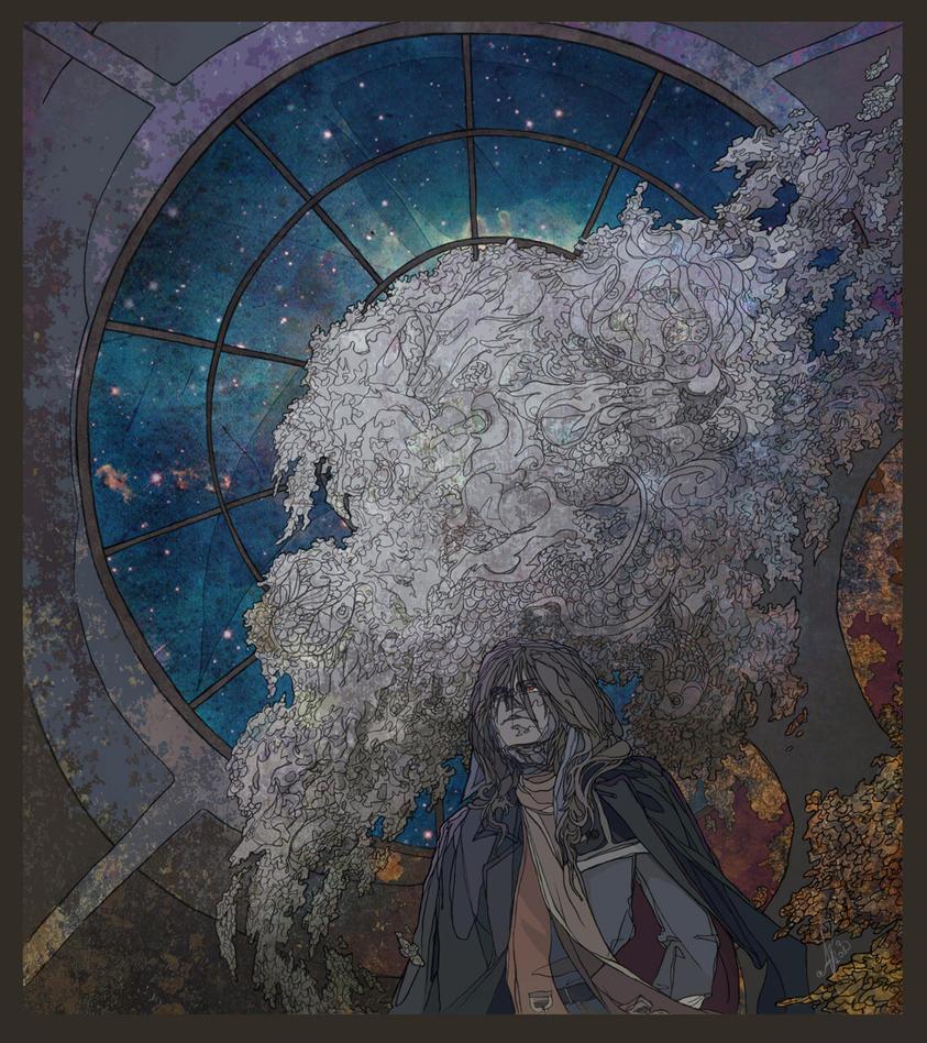 White tree by AlexandrFaolchu