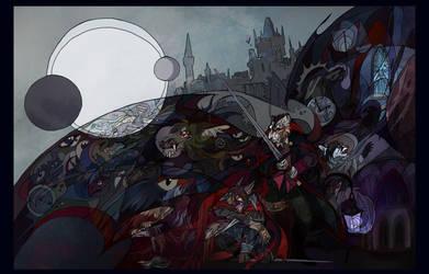 Castlevania by AlexandrFaolchu