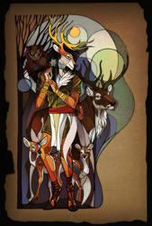 Secret of the Deers by AlexandrFaolchu