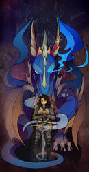 Dragon eye by AlexandrFaolchu